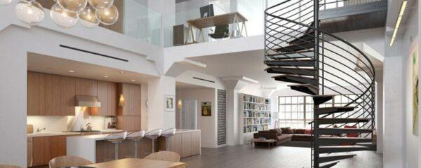 un escalier design