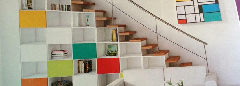 meubles sous escalier