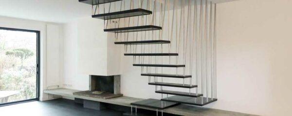 Escalier en suspension